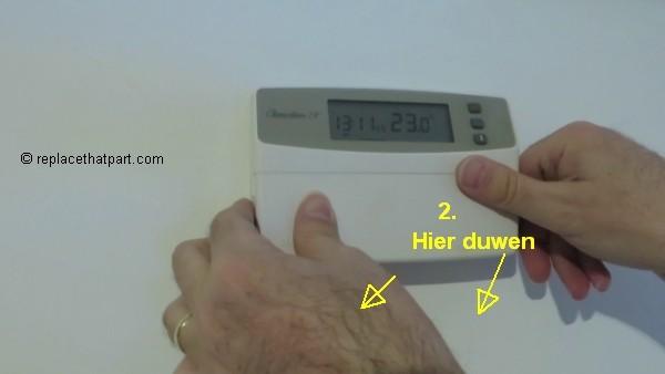 Hoe kan ik haak mijn Honeywell thermostaat