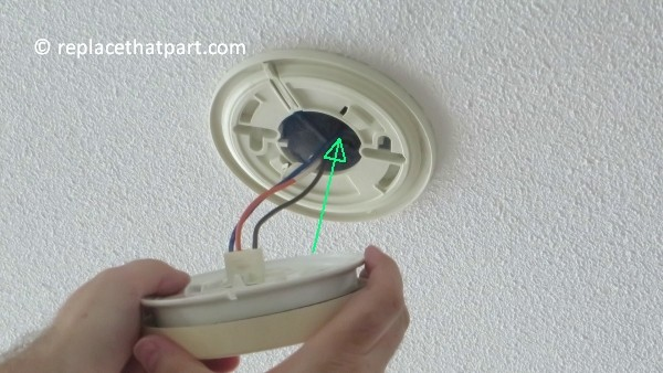 how to replace the battery in the firex smoke alarm padc240 28