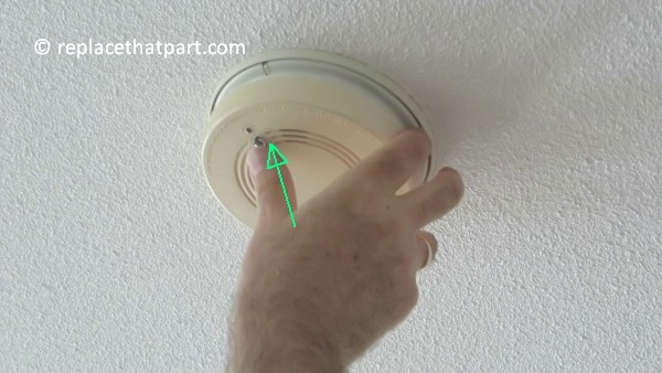 how to replace the battery in the firex smoke alarm padc240 34