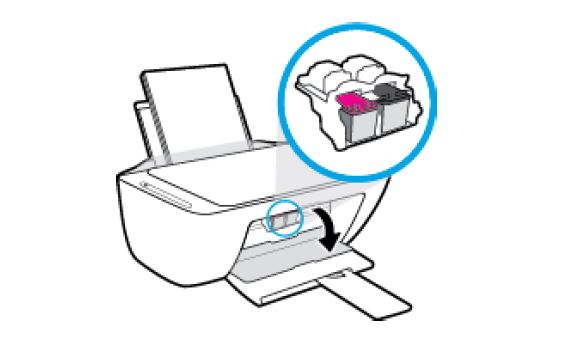 hp deskjet 2640 how to replace the ink cartridges 04