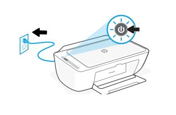 hp deskjet 2725 replace the ink cartridges 03