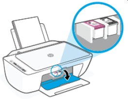 hp deskjet 2725 replace the ink cartridges 05