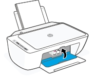 hp deskjet 2725 replace the ink cartridges 12