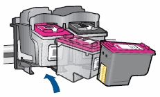 how to change ink cartridge on hp deskjet 3755