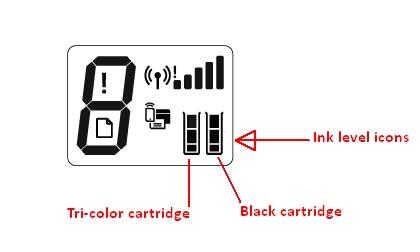 hp deskjet 3772 replace the ink cartridges 01