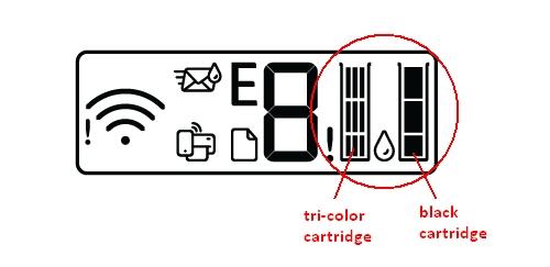 hp deskjet 4152 replace the ink cartridges 01