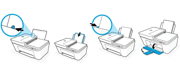 hp deskjet 4152 replace the ink cartridges 04