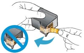 hp deskjet ink advantage 1115 printer how to replace ink cartridges 09