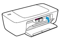 hp deskjet ink advantage 1115 printer how to replace ink cartridges 11