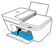 hp deskjet plus 4122 replace the ink cartridges 12