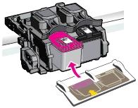 hp deskjet plus 4132 replace the ink cartridges 10