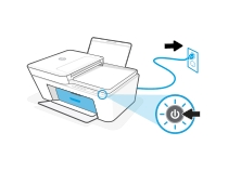 hp deskjet plus 4140 replace the ink cartridges 03