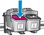 hp deskjet plus 4140 replace the ink cartridges 06