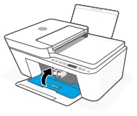 hp deskjet plus 4158 replace the ink cartridges 12