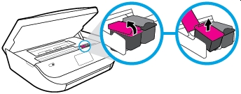 hp envy 5010 how to replace ink cartridges 06