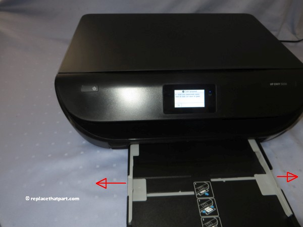 hp envy 5030 how to replace the ink cartridges 03