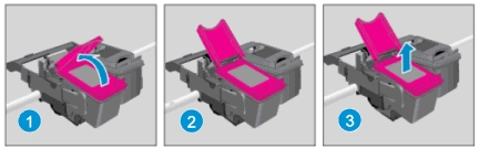hp envy 5052 how to replace ink cartridges 07