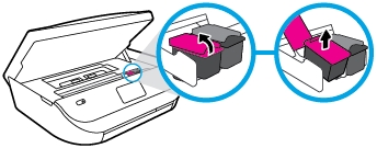 hp envy 5070 how to replace the ink cartridges 07