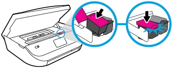 hp envy 5070 how to replace the ink cartridges 12