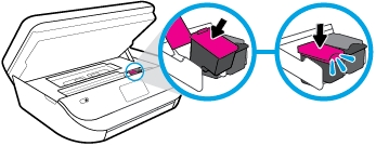 hp officejet 5222 how to replace the ink cartridges 12