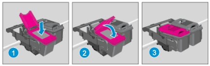 hp officejet 5222 how to replace the ink cartridges 13