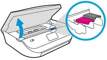 hp officejet 5260 how to replace the ink cartridges 05