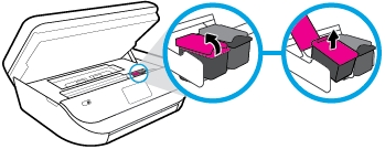 hp officejet 5264 how to replace the ink cartridges 06