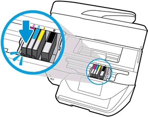 hp officejet 6954 replace ink cartridges 09