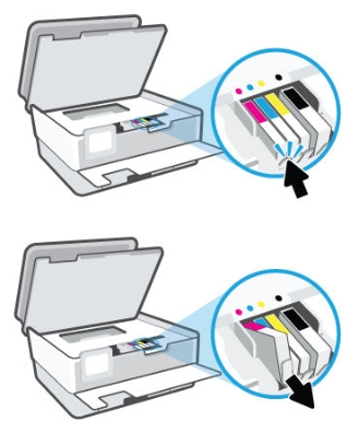 hp officejet pro 8022 how to replace ink cartridges 05