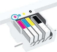 hp officejet pro 8025 how to replace ink cartridges 10
