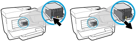 hp officejet pro 8725 how to replace ink cartridges 04