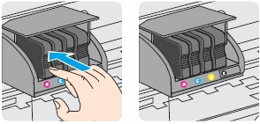 hp officejet pro 9012 replace the ink cartridges 08