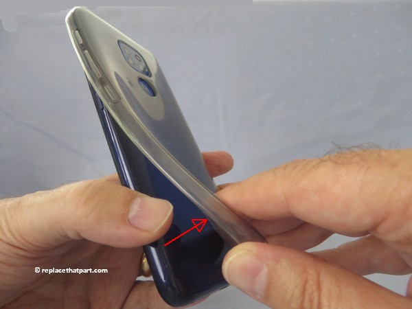 motorola moto g9 play how to insert or remove sim cards and sd memory card 03