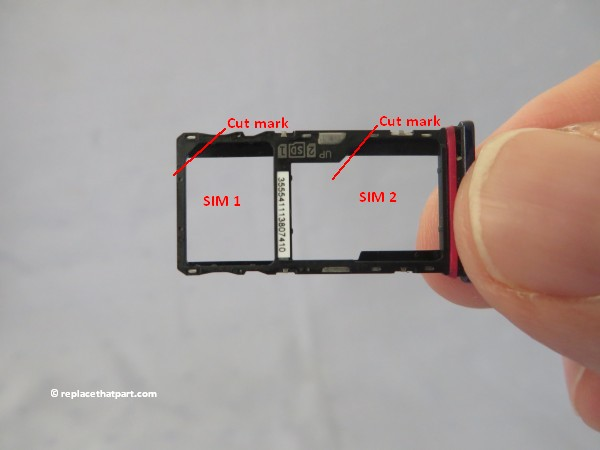 motorola moto g9 play how to insert or remove sim cards and sd memory card 07