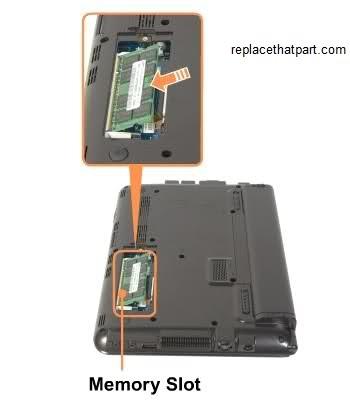 Samsung n150 slot ram